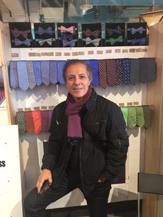Had a little help from my uncle who is in town! #ties #bowties #mensfashion #preppy #afinchelsea #chelseamarket #nyc #cheers