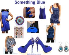 """Something Blue"" by ladiesfashionsense on Polyvore"