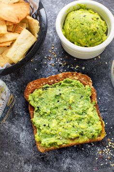 Avocados have never tasted better! Only 3 ingredients and tasty enough for a dip, spread, snack and easy appetizer! Cooking Avocado, Avocado Recipes, Easy Dinner Recipes, Great Recipes, Yummy Recipes, Avocado Spread, Ripe Avocado, Avocado Health Benefits, How To Cook Eggs