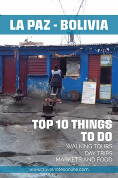 These are my top ten things to do in La Paz, Bolivia, including walking tours, day trips, markets and food. #bolivia #backapacking #daytrips #ecotravels #southamerica Stuff To Do, Things To Do, Sea Level, Getting Bored, Walking Tour, Bolivia, Top Ten, Day Trips, Backpacking