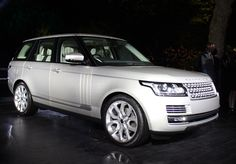 2013 Land Rover Range Rover - live reveal in London