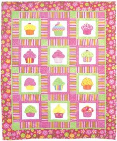 I've been meaning to sew a cupcake quilt for Tess since she was born. I have a pattern already, but I'm looking for more ideas.