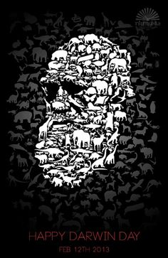 Darwin Day Good idea for an all inclusive shirt, representing all 4 categories.