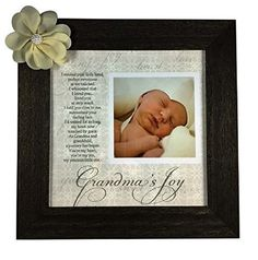 Grandmas Joy Picture Frame with Poetry  Barnwood ** This is an Amazon Affiliate link. You can find out more details at the link of the image.