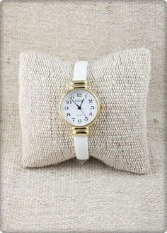 LouLouBoutiques - Gold Faux Leather Watch