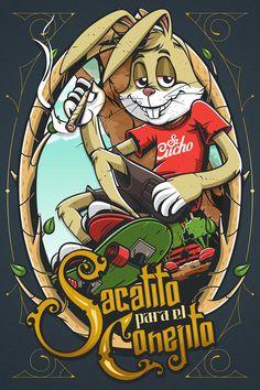 Sacatito para el Conejito (by Sr. Cucho) DESIGN STORY: |Tumblr | Twitter | Facebook | Google+ | [[MORE]]