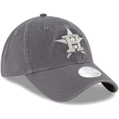 7726c6a1f2a Women s Houston Astros New Era Graphite Preferred Pick 9TWENTY Adjustable  Hat