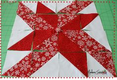 I want to make this pattern for a Christmas Quilt after I have a few more quilts under my belt.