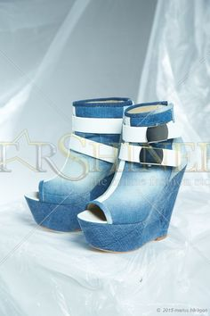 Mexton High Level Blue Ankle Boots