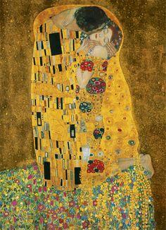 Gustav Klimt The Kiss (Le Baiser _ Il Baccio) painting for sale - Gustav Klimt The Kiss (Le Baiser _ Il Baccio) is handmade art reproduction; You can shop Gustav Klimt The Kiss (Le Baiser _ Il Baccio) painting on canvas or frame. The Kiss, Art Nouveau, Art Klimt, Dorm Posters, Art Moderne, Art Plastique, Famous Artists, Oeuvre D'art, Les Oeuvres