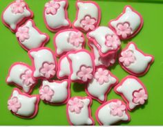 Kitty Cat Plastic Cabochons decoden