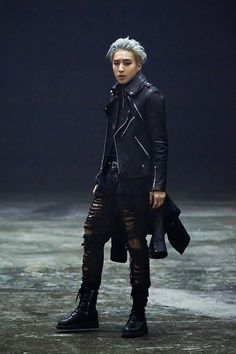 B.A.P Jongup, wow, great cheekbones!