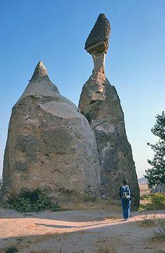 Camini delle Fate, Turchia