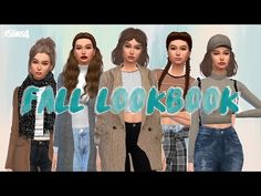 The Sims 4 : Fall Lookbook + CC LIST - YouTube Sims 4 Teen, Fall Lookbook, Videos, Girls, Youtube, Little Girls, Daughters, Youtubers, Youtube Movies