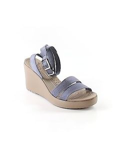 thredUP has thousands of pre-owned women's clothes, handbags, shoes & accessories for sale at up to off retail price! Crocs Shoes, Handbags On Sale, Wedges, Clothes For Women, Sandals, Accessories, Style, Fashion, Outerwear Women
