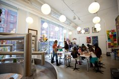 An art museum dedicated to teaching kids about art. They offer classes and workshops as well for young creative minds.
