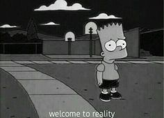 bart simpson out of body experience The Simpsons, Simpsons Quotes, Cartoon Quotes, Sad Quotes, Qoutes, Bart Simpson, Simpson Wave, Simpson Tumblr, Eleven Paris