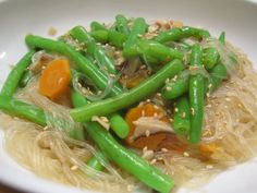 Mung Beans (Cellophane) Noodles with Vegetables