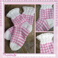 Prinsessa-villasukat prinsessalle <3 Knitting Socks, Lana, Christmas Stockings, Holiday Decor, Fashion, Knit Socks, Needlepoint Christmas Stockings, Moda, Fashion Styles