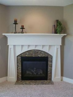 4 Prepared Tricks: Fake Fireplace How To Make A marble fireplace living room.Craftsman Fireplace Interiors two story fireplace wall.Fireplace With Tv Above Tv Covers. Craftsman Fireplace, Cabin Fireplace, Shiplap Fireplace, Small Fireplace, Rustic Fireplaces, Modern Fireplace, Fireplace Surrounds, Fireplace Design, Fireplace Ideas