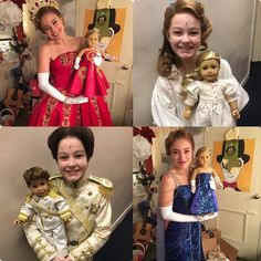 "nicolescimeca9Christmas came early!@christyaltomare helped model with my gifts Blue dress & nightgown by @sewyoucreations and Prince & ""big red"" by Janet Hart @maggieleehart#anastasiabroadway #anastasiamusical#anastasiabway @anastasiabway"