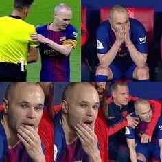 Thanks Iniesta for the ball she made to Barcelona Best Football Team, Football Soccer, Fc Barcelona, Best Club, Baseball Cards, Sports, God, Beautiful, Soccer