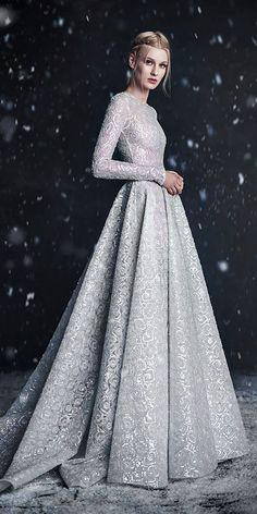 Paolo Sebastian 2016 Winter Couture Wedding Dress - - Paolo Sebastian 2016 Autumn – Winter Couture Wedding Dress Collection 'Snow Maiden' See The Full Story at storyboardwedding… Source by StorybrdWedding Wedding Dress Winter, Winter Dresses, Wedding Gowns, Evening Dresses, Prom Dresses, Formal Dresses, Silver Wedding Dresses, Lace Wedding, Silver Dress