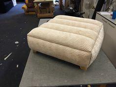 Hand made footstool