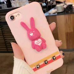 GREENSTRAW Fresh Cute Rabbit Pattern Phone Case For iPhone