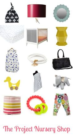 The Project Nursery Shop s - so many great pieces for a modern baby nursery!