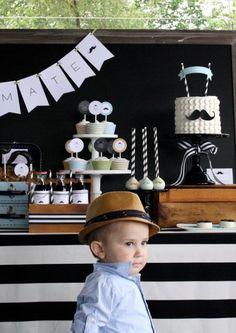 blog vittamina tema para aniversario de menino aniversario infantil festa do bigode festa criativa