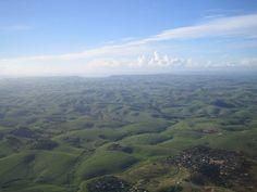 Valley of a thousand hills tussen Durban en de Drakensbergen.