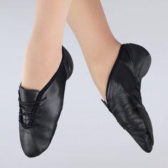 1st Position Flex Lace Up Pyramid Toe Jazz Shoe dazzle-dancewear.co.uk