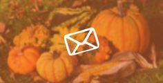 4 Modalitati de promovare in sezon prin email marketing Email Marketing, Pumpkin, Pumpkins, Squash
