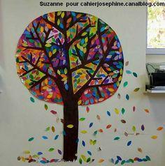 Nurvero; La vie en classe a trouvé pour arts plastiques, arbres, saisons Chez les cahiers de Joséphine