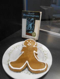 A Farewell to Arms - edible book. I LOVE these edible book ideas!