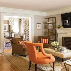 Traditional, living room, Benjamin Moore Ashen Tan, MH Design inc