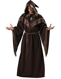 Introducing Coolmee Mens Halloween Wizard Cosplay Medieval Monks Priest Robe Costumes Cloak. Great Product and follow us to get more updates!