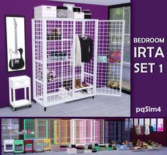 Pqsim : Bedroom IRTA Set 1.