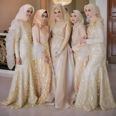 Dress hijab brokat muslim 20 ideas for 2020 Baby Blue Wedding Dresses, Long Prom Dresses Uk, Country Bridesmaid Dresses, Two Piece Wedding Dress, Muslim Wedding Dresses, Bridal Dresses, Kebaya Dress, Dress Brukat, Hijabi Gowns