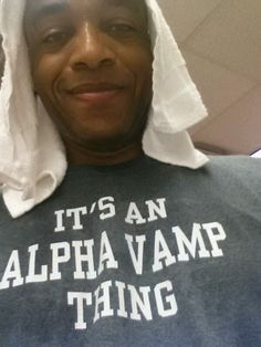 His shirt though <3