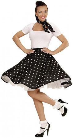 Vestito Carnevale da Pin up anni 50