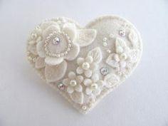 winter white DIY ornaments christmas weddings by infinitepink