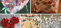 diy recycled paper craft ideas