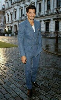 David Gandy in Royal Academy summer Exhibition pivate view…enough of him…so many others are more handsomer.