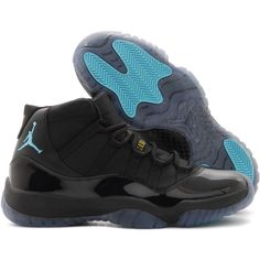 f6c39936e03dea Air Jordan 11 Retro  Gamma Blue  Release Reminder ❤ liked on Polyvore  featuring shoes