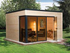 Das gartenhaus selber bauen bausatz oder als fertighaus for Wohncontainer aus holz