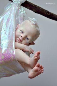 Melissa George Reborn Baby Fairy Prototype Twinkle by Shawna Clymer