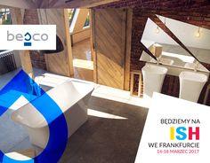Targi ISH we Frankfurcie to międzynarodowa impreza podczas której wszyscy ceniący się producenci z branży sanitarnej prezentują swoje nowoczesne rozwiązania oraz niespotykany design swoich produktów. W tym roku, marka BESCO bierze udział w tym świetnym wydarzeniu!