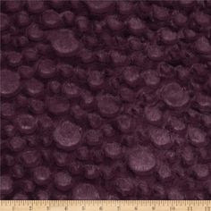 Minky Soft Stone Cuddle Plum from @fabricdotcom  This soft and textured Cuddle plush minky has a silky soft stone-like embossed surface and 10mm pile. Fabric is perfect for apparel accents, blankets, throws, pillows, baby accessories, stuffed animals and more!